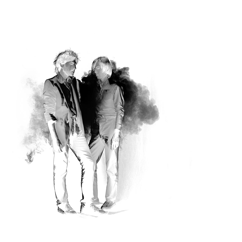 Groupe de musique french touch - Jean-Benoit Dunckel - Nicolas Godin - linda - bujoli - AIR - Pocket symphony - album -portrait - Photographique - Iconique - Sculpter - Lumière- palais des beaux art de Lille
