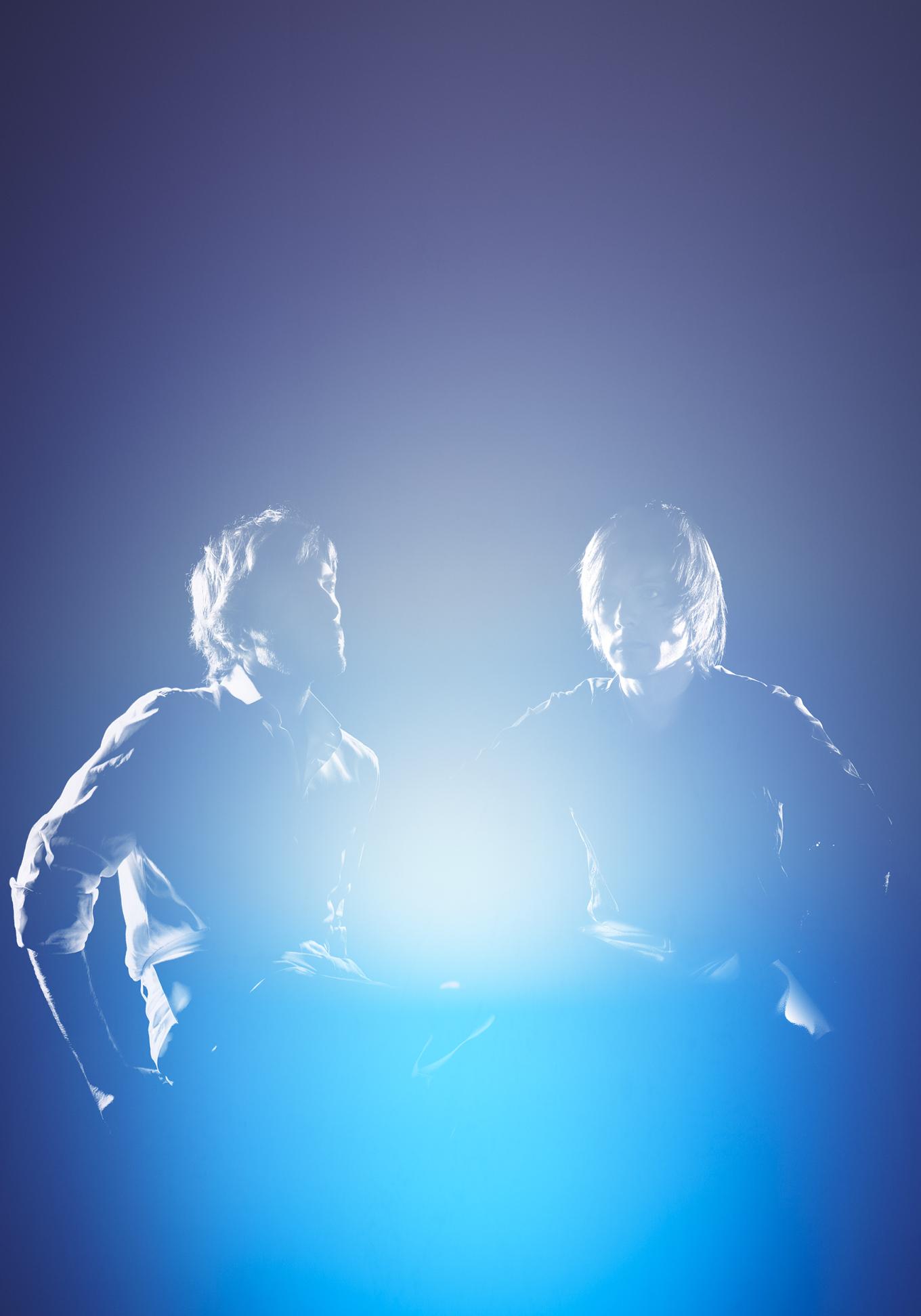 mathias kiss - xavier veilhan - Open museum - Palais des beaux arts de Lille -Groupe de musique french touch - Jean-Benoit Dunckel - Nicolas Godin - linda - bujoli - AIR - Pocket symphony - album -portrait - Photographique - Iconique - Sculpter - Lumière