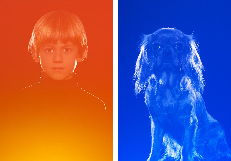 Linda Bujoli - portrait photographique iconique - icône - lumière - sculpter par la lumière