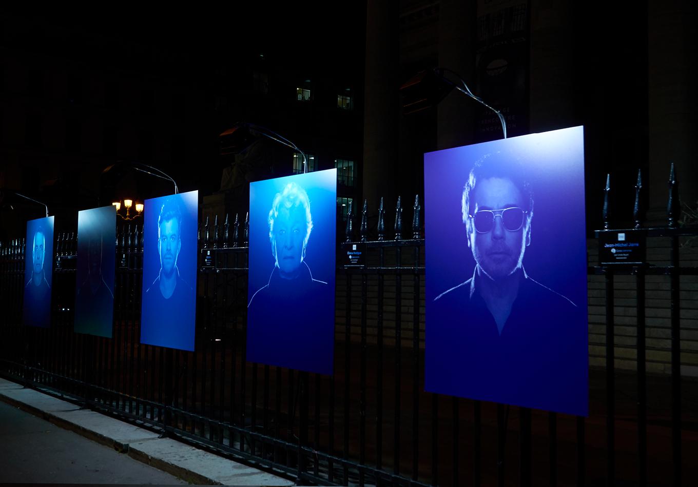 portrait de famille contemporain - INA - Inasound - exposition photographique grilles du palais Brongniart - GRM - corps sonores pièce sonore
