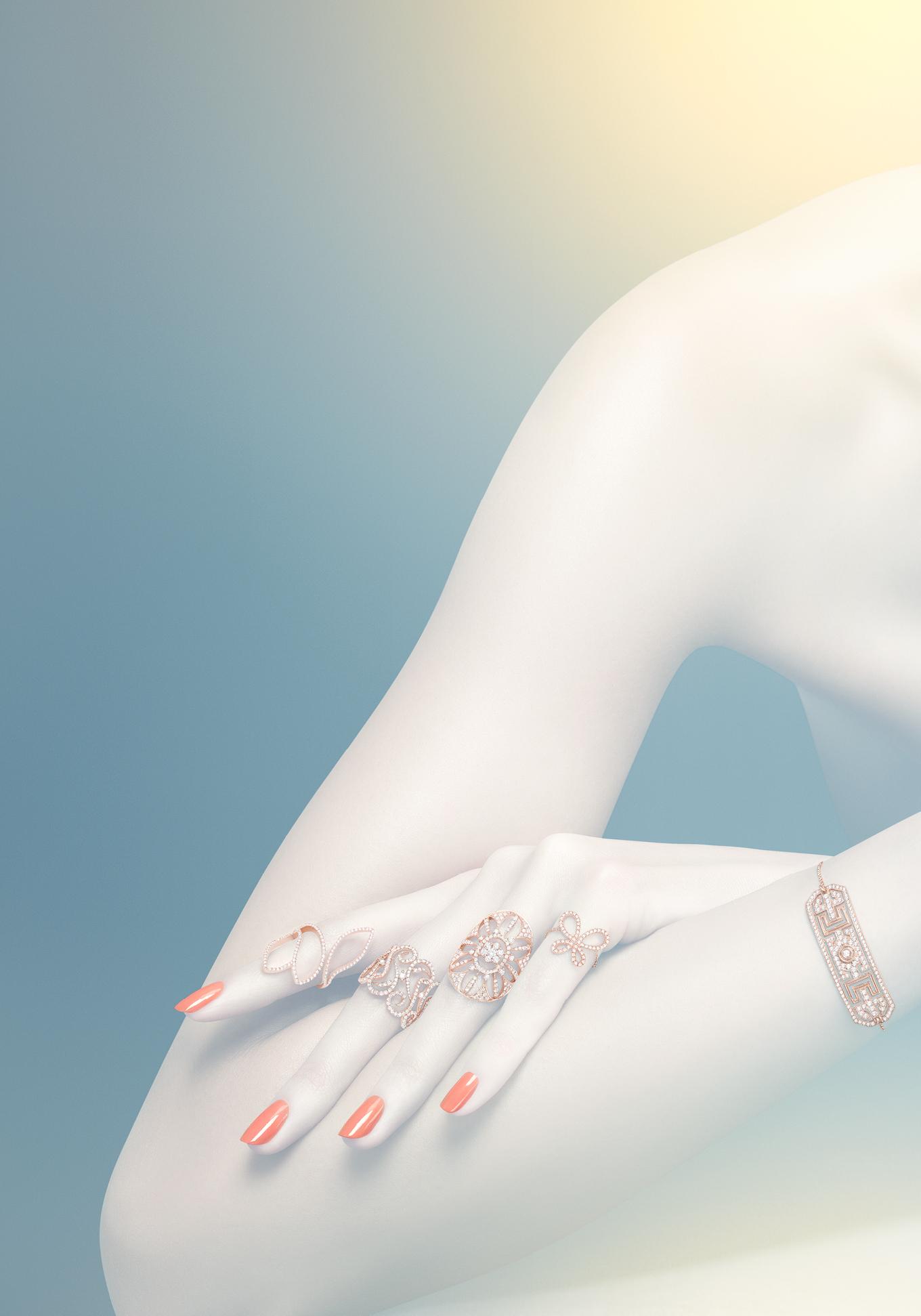 Maison Repossi LVMH - linda-bujoli-photographe-campagne-bijoux-djula-femme-bijoux portés - accessoires portés