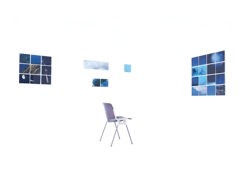Linda Bujoli - Photographe plasticienne - une fenêtre de rêve photographique - Un Tableau Pour rêver - œuvre modulaire photographique - installation méditative -galerie Artligue - œuvre méditative