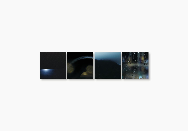 Linda Bujoli - Photographe plasticienne - une fenêtre de rêve photographique - Un Tableau Pour rêver - œuvre modulaire photographique - galerie Artligue - œuvre méditative