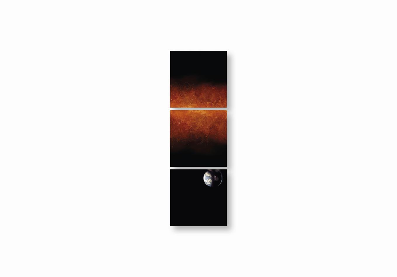 Bujoli - Photographe plasticienne - une fenêtre de rêve photographique - Un Tableau Pour rêver - œuvre modulaire photographique - Installation méditative - galerie Artligue - œuvre méditative
